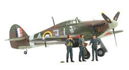 Tamiya 37011 1/48 Hawker Hurricane Mk.I w/3 Figures