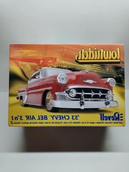 Revell '53 Chevy Bel Air 3' n 1 Model Kit 1:24 Scale NEW,SEA