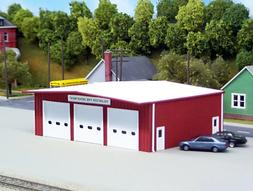 PIKESTUFF 5410192 HO Fire Station Model Railroading Building