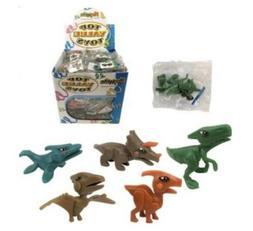 6 Dinosaur Model Kit Figures Party Bag Fillers
