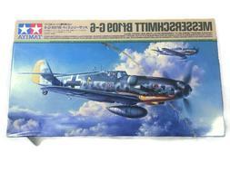 61117 Messerschmitt BF109 G-6 Tamiya 1/48 plastic model kit