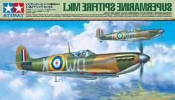 Tamiya 61119 1/48 Scale Model Aircraft Kit WWII RAF Supermar