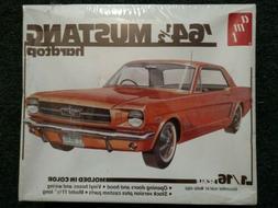 AMT '64 1/2 Mustang Hardtop 1:16 Scale Model Kit - Sealed
