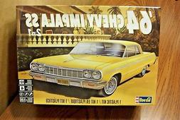Revell 64 Chevy Impala 2 in 1 1:25 scale model car kit new 4