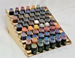 65 pots, Typhoon Paint Rack for, Citadel / Vallejo / GW / Wa