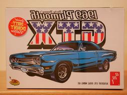 AMT '69 Dirty Donny's Plymouth GTX Model Kit - 1:25 Scale -