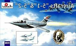 """Amodel 72206 - 1/72 - Aircraft """"5-1"""" & """"5-2"""", scale plastic"""