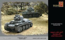 Pegasus 7620 WWII German Pz.38 Light Tank Set of Two 1/72 Sc