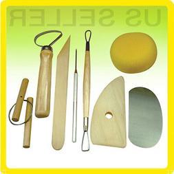 8 Pcs Pottery Tool Set Clay Sculpting Modeling Ceramics Art