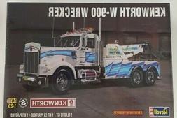 Revell 85-2510 Kenworth W-900 Wrecker 1/25 Scale Plastic Mod