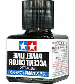 TAMIYA 87131 Panel Line Accent Color Black For Plastic Model