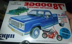 MPC 901 1978 DODGE D-100 PICKUP TRUCK 1/25 MODEL CAR MOUNTAI