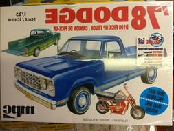 MPC 901 F/S 1978 DODGE D100 PICKUP TRUCK MODEL KIT