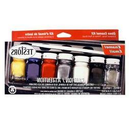 TESTORS Model Paint Products 9115x Enamel Kit:Household,6 Co