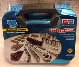 Channellock 39070 94 Piece Mechanics Tool Set Black Box Chan