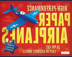 High-Performance Paper Airplanes Kit: 10 Pre-cut, Easy-to-As