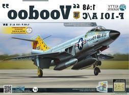 KH80115 1:48 Kitty Hawk F-101A/C Voodoo MODEL BUILDING KIT
