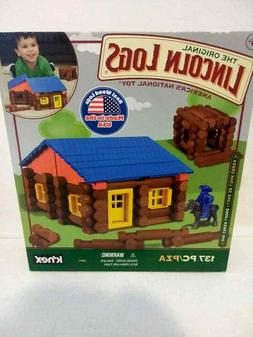 LINCOLN LOGS – Oak Creek Lodge – 137 Pieces – Ages 3+