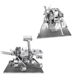 Metal Earth 3D Laser Models Spacecraft Set of 2 - Mars Rover