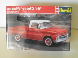 REVELL -  '64 CHEVY FLEETSIDE PICKUP TRUCK - MODEL KIT
