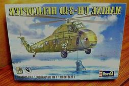 Revell Marine UH-34 D Helicopter Plastic Model Kit