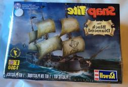 Revell SnapTite The Black Diamond Pirate Ship Model Kit
