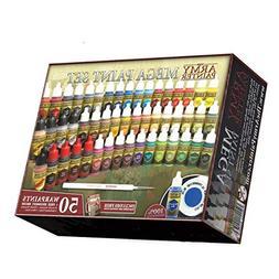 The Army Painter: Miniature Painting Kit, Warpaints Mega Pai