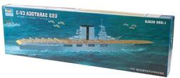 Trumpeter 1/350 USS Saratoga CV3 Aircraft Carrier Model Kit