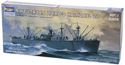 Trumpeter 1/700 USS SS Jeremiah O'Brien WWII Liberty Ship Mo
