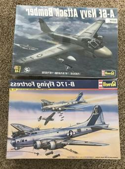 Revell A-6E Navy Attack Bomber Model Kit #85-5626 1/48 Scale