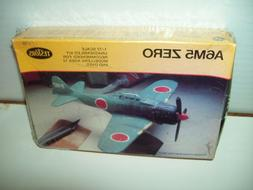 Testors A6M5 ZERO 1/72 Model Kit...............Brand New Sea