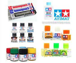 TAMIYA Acrylic & LP+ Model Kit Paint Hobby Thinner Panel Lin
