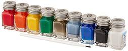 Testors Acrylic Value Finishing 9 Color Non Toxic Paint Set