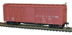Accurail ACU4327 HO KIT 40' Single Sheath Wood Box, PRR/Earl