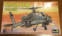 Revell AH-64 Apache Helicopter Model Kit 1:48 Scale Opened M