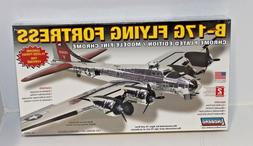 Lindberg Airplane B-17G Flying Fortress Chrome/Plastic Aircr