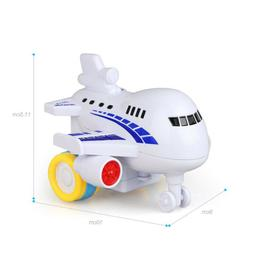 Airplane Model Kids Toy Durable Creative Colorful Model Toys