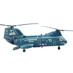Easy Model American CH-46 Sea Knight Helicopter Model Buildi