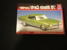 AMT/ERTL  MODEL CAR KIT  1970 CHEVY MONTE CARLO LOWRIDER 1/2