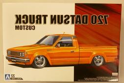 Aoshima 1/24 720 Datsun Nissan Truck Lowrider Custom PLASTIC