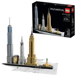LEGO Architecture New York City 21028 Model Kit for Adults a
