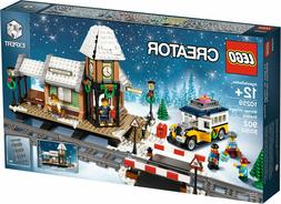 Authentic LEGO Creator Seasonal Winter Village Station 10259