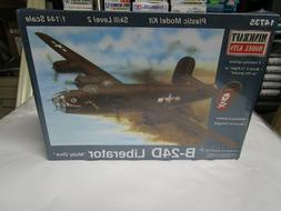 B-24D Liberator plastic model Kit in 1/144 scale by Minicraf