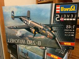 B-25D Mitchell Level 5 1:48 Revell Model Kit 4977  - NEW Rel