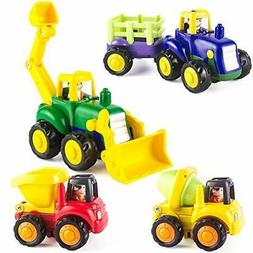 Baby Toy Car For Toddlers 1 2+ Years Old Boy & Girl Push Go