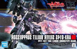 Bandai Hobby Gundam NT Narrative Silver Bullet Suppressor HG
