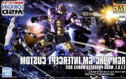 Bandai Hobby Gundam The Origin GM Intercept Custom HG 1/144