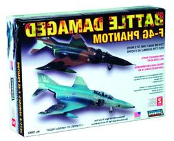 Lindberg Models Battle Damaged F-4G Phantom 1/72 Building Ki
