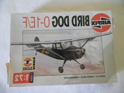 AIRFIX Bird Dog 0-1E/F Model Kit Airplane 1/72 SCALE Series