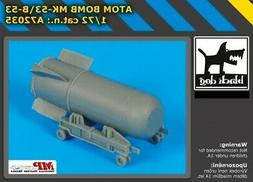 Blackdog Models 1/72 MARK 53 B-53 ATOM BOMB Resin Kit